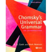 Chomskys Universal Grammar an introduction third edition