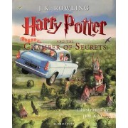 Harry Potter and the Chamber of Secrets Illustrated Edition Book 2