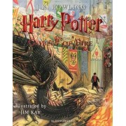 Harry Potter and the Goblet of Fire Illustrated Edition Book 4