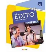 آموزش زبان فرانسوی Edito Methode De Francais A1 همراه CD