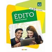 آموزش زبان فرانسوی Edito Methode De Francais A2 همراه CD