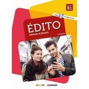آموزش زبان فرانسوی Edito Methode De Francais B1 همراه CD