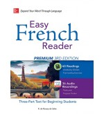 Easy French Reader Premium 3rd Edition همراه DVD