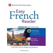 Easy French Reader Premium 3rd Edition همراه DVD