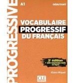 Vocabulaire Progressif Du Francais A1 همراه CD
