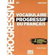 Vocabulaire Progressif Du Francais A1 همراه CD