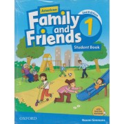 american family and friends 1 SB 2nd edition همراه با کتاب کار و DVD