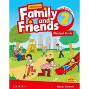 american family and friends 2 SB 2nd edition همراه با کتاب کار و DVD
