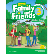 american family and friends 3 SB 2nd edition همراه با کتاب کار و DVD