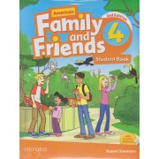 american family and friends 4 SB 2nd edition همراه با کتاب کار و DVD