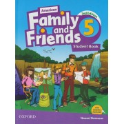 american family and friends 5 SB 2nd edition همراه با کتاب کار و DVD