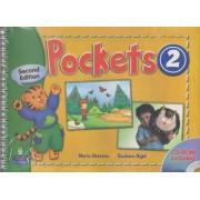 pockets 2 second edition همراه با کتاب کار و DVD