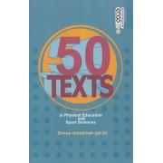 50 متن تخصصی تربیت بدنی و علوم ورزشی