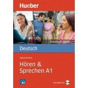 Deutsch Uben Horen Sprechen A1 همراه DVD
