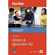 Deutsch Uben Horen Sprechen A2 همراه DVD