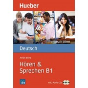 Deutsch Uben Horen Sprechen B1 همراه DVD