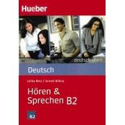 Deutsch Uben Horen Sprechen B2 همراه DVD