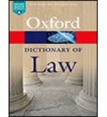Oxford Dictionary of Law 8th Edition