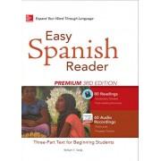 Easy Spanish Reader Premium 3rd Edition همراه DVD