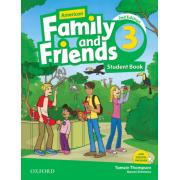 american family and friends 3 SB 2nd edition همراه با کتاب کار و DVD