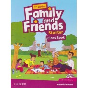 family and friends starter class book 2nd edition همراه با کتاب کار و DVD