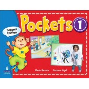 pockets 1 second edition همراه با کتاب کار و DVD