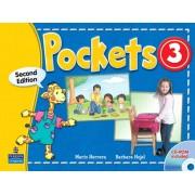pockets 3 second edition همراه با کتاب کار و DVD