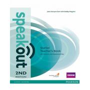 Speakout 2nd edition Starter teachers book همراه CD