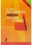 a pre intermediate english peading course 2021